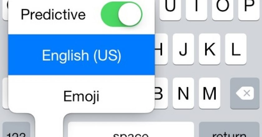 disable predictive keyboard ios 8