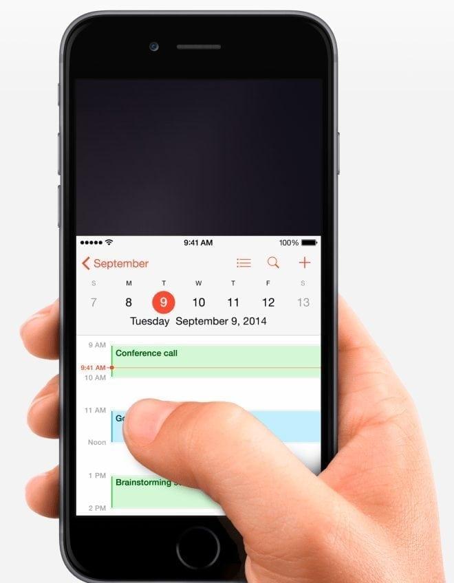 disable reachability iphone 6