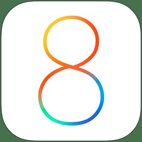 iOS 8 official logo