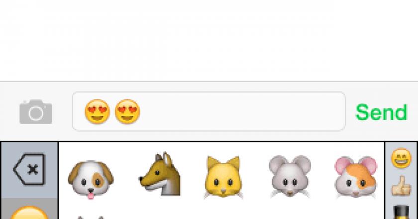 Emoji keyboard, emoji++ keyboard ios 8 smart category