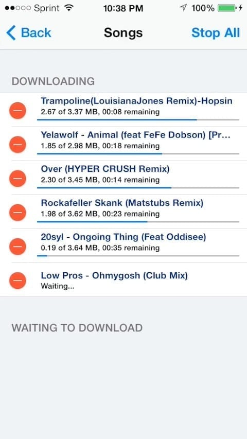 download soundcloud songs from iphone