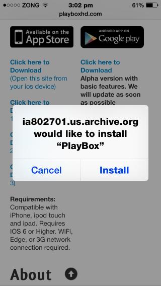 playbox 1.3 moviebox alternative for iphone