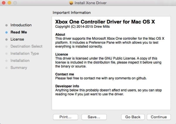 how to use xbox one controller on Mac OS x