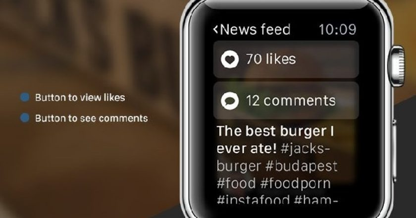 Instagram for Apple Watch, Instagram likes