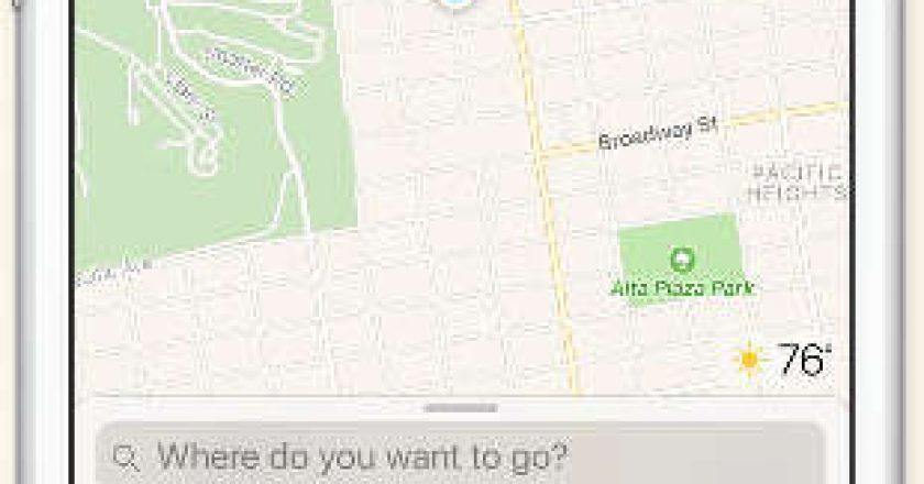 iOS Maps