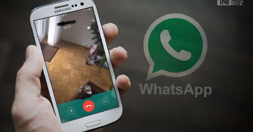 Video calling on Whatsapp
