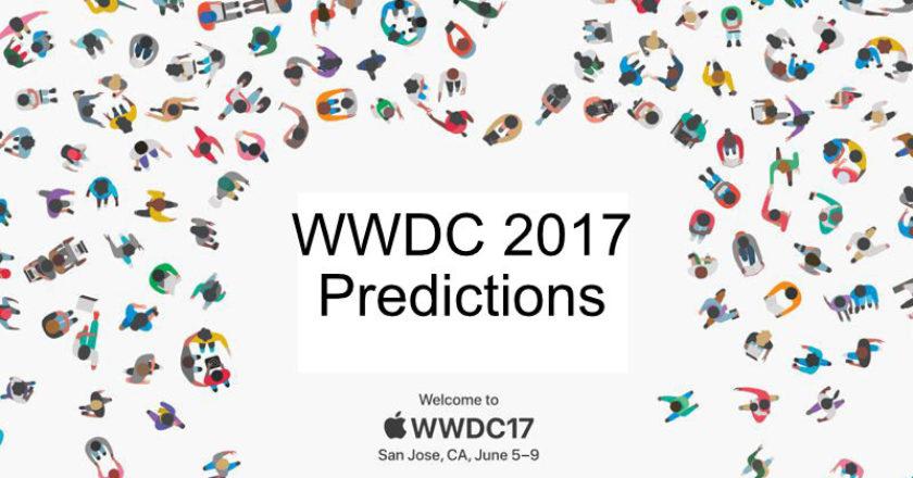 wwdc 2017 Predictions