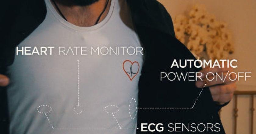 Smart Clothes, heart rate, smart shirt