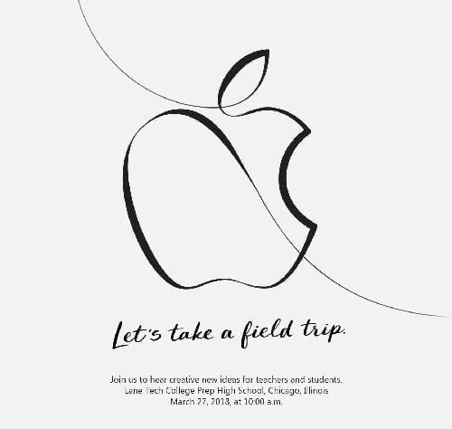 Apple Education Event, Education Event, k-12 classrooms, Apple Education