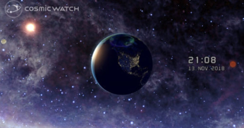 cosmic watch, cosmic watch 2.0, solar system, mechanics of our solar system, space and time