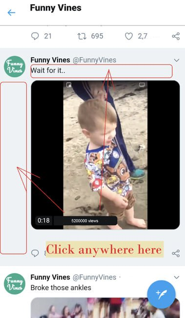 twitter, video, download videos, download any video, Tutorial