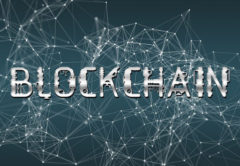 Abstract image of blockchain