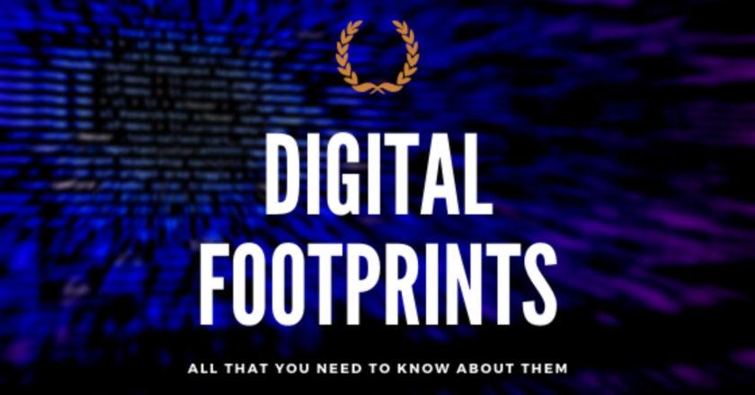 Digital Footprints, Digital Footprint, trail of data, active footprint, World Wide Web, My Digitalfootprint