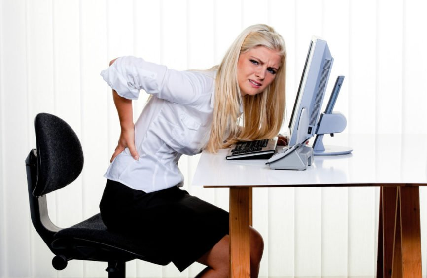 Desk-Job Related Injuries, neck pain, seated posture, Chiropractic Care, Prevent Desk-Job Related Injuries