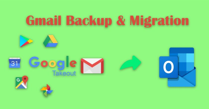 Gmail Mailbox To Outlook PST, Gmail Backup, Gmail Migration, Outlook PST, How to backup Gmail
