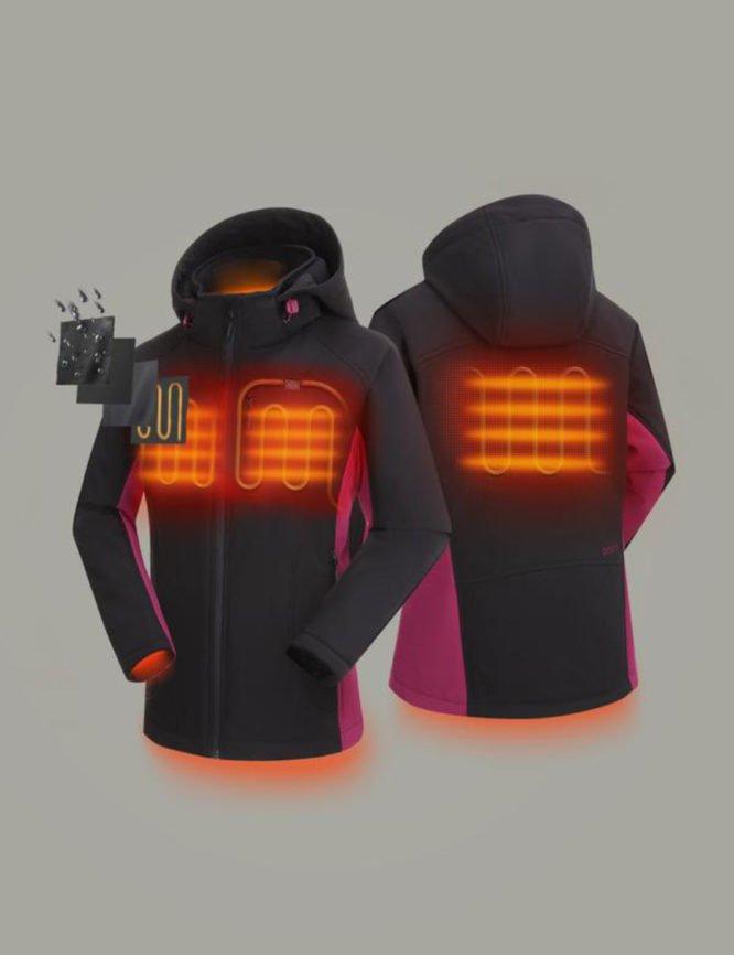 Heated Jacket, Battery powered heated jacket, Cold Weather Jacket, Heated Winter Coat, Cold Climate Jacket