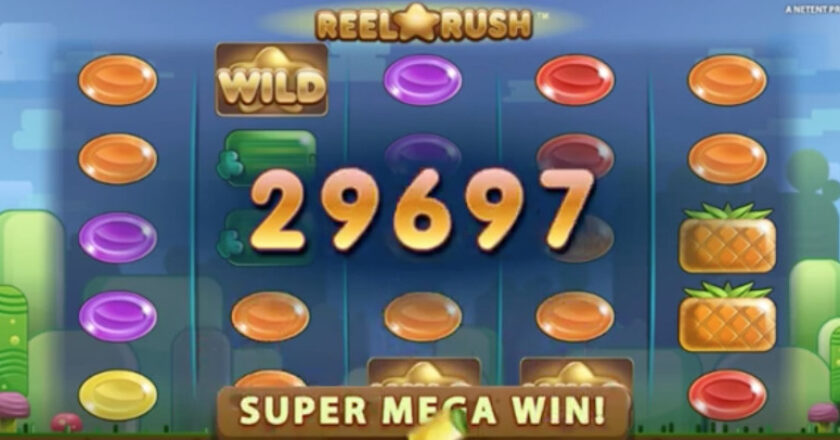 Slot Games, Online Slot Games, Reel Rush, slot developers, Mega Moolah