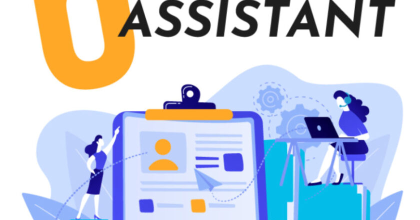 Graphic showing Virtural Assistant