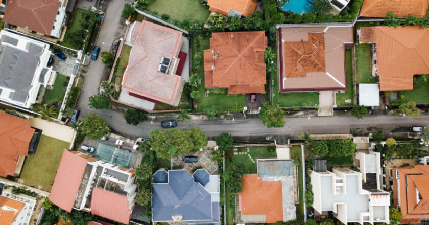 Sky view of Real Estate