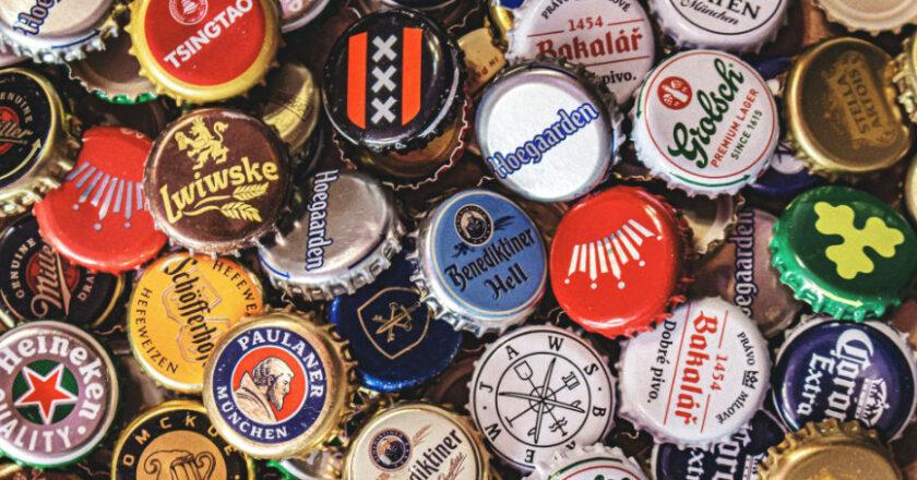 Bottle caps logos