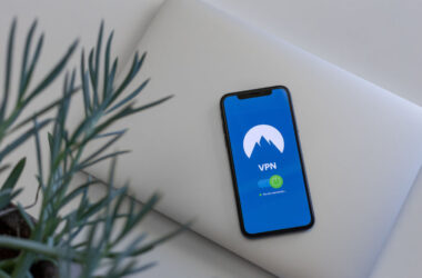 VPN displayed on an iPhone