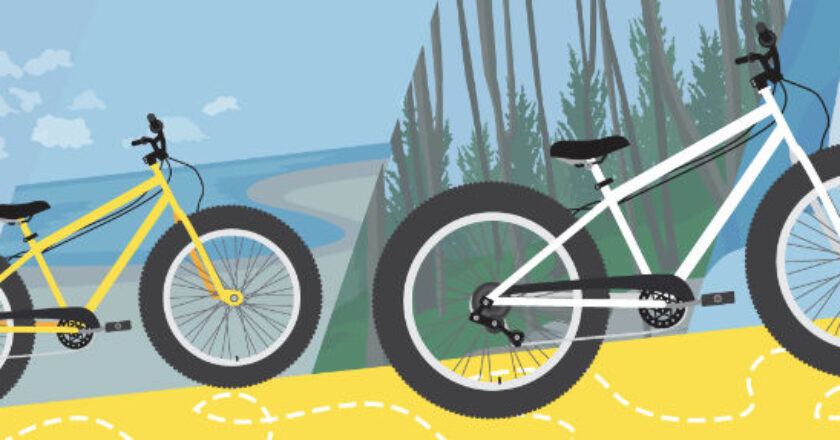 Illustration of Electric Bikes