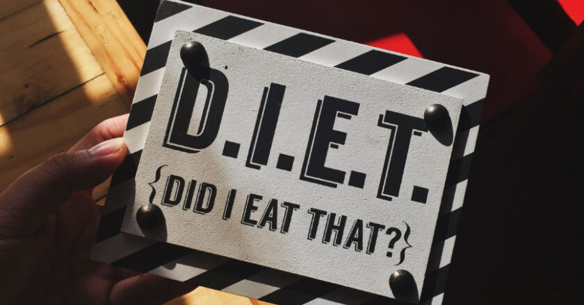Sign that reads D.I.E.T. Did I Eat That?